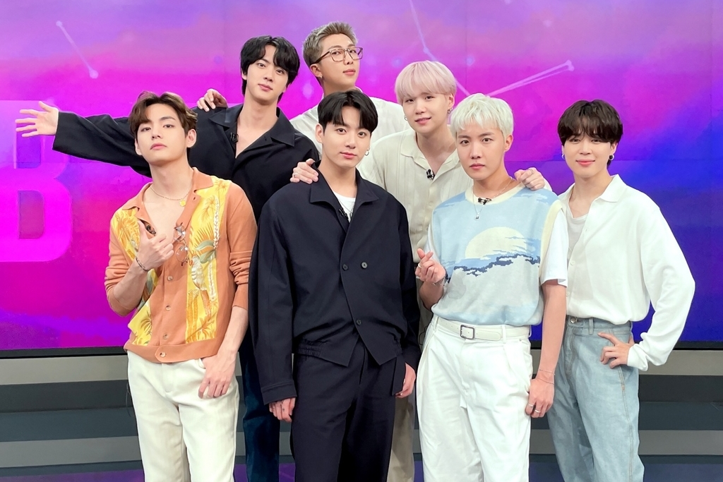 BTS Pledges to Do Its Best as Presidential Envoy