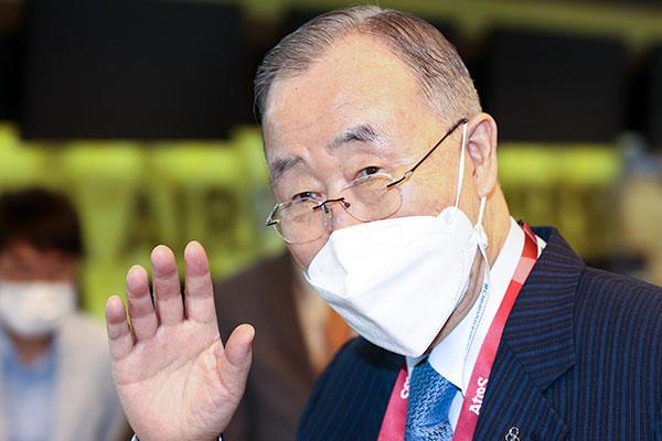 Ban Ki Moon se reúne con el emperador de Japón