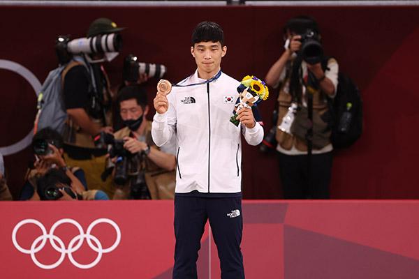 An Ba-ul Peroleh Medali Perunggu di Judo, Hwang Sun-woo Pecahkan Rekor Nasional Korsel di Renang Gaya Bebas