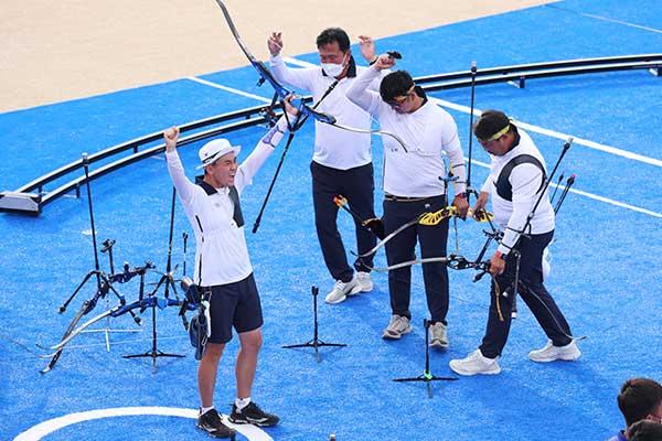 Tir à l'arc : la Corée du Sud remporte une 3e médaille d'or