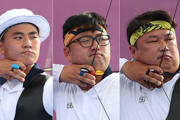 快讯: 韩国男子射箭队获奥运团体赛两连冠