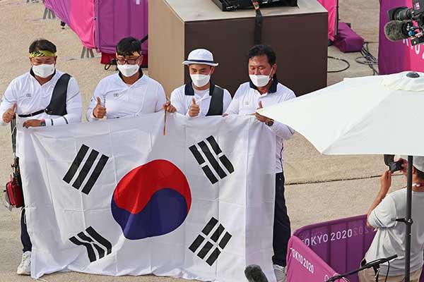La semaine olympique débute avec une médaille d'or en tir à l'arc et l'espoir d'une récompense en judo