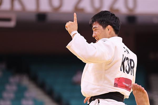 An Chang Rim logra el bronce en judo masculino de 73 kg
