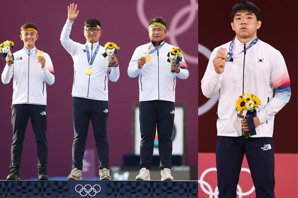 La Corée du Sud récolte une médaille d'or et une de bronze ce lundi aux JO