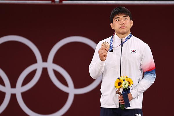 在日韓国人3世のアン・チャンリムが銅メダル 男子柔道73キロ級