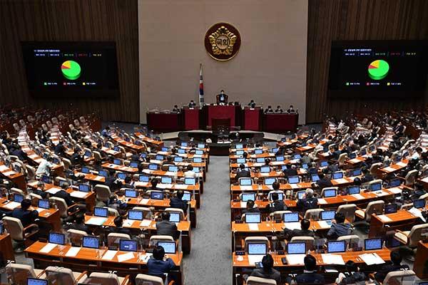 34兆9000億ウォンの補正予算案が可決 国民の88%に災害支援金