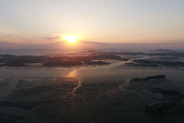 韩国滩涂被列入《世界自然遗产名录》