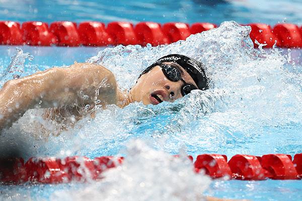 Пловец Хван Сон У побил рекорд Азии на дистанции 100 метров вольным стилем