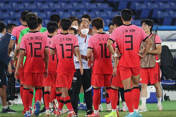 Football : l'équipe masculine sud-coréenne qualifiée pour les quarts de finale
