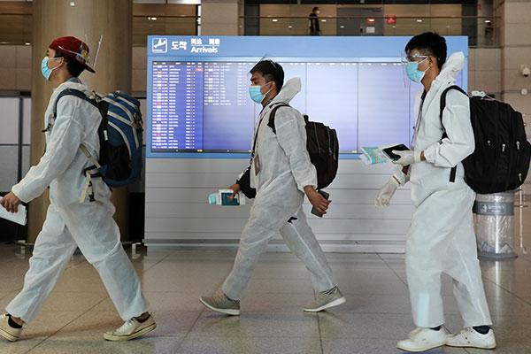 Pandemi COVID-19, Jumlah WNA di Korsel Turun selama 19 Bulan Berturut-turut