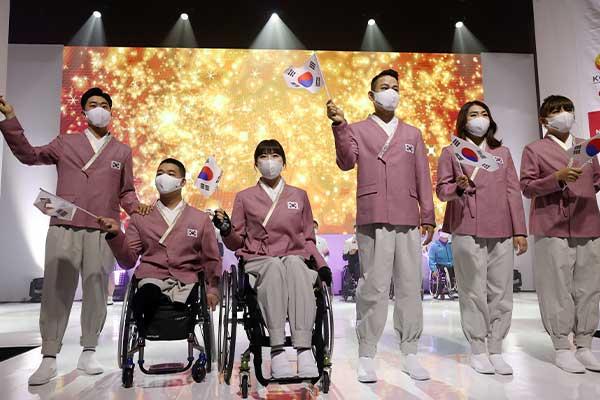 كوريا الـ81 في قائمة الاستعراض في افتتاح دورة طوكيو البارالمبية
