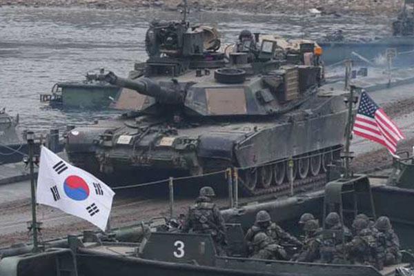 来月の韓米合同軍事練習 国防部「アメリカと緊密に協議中」