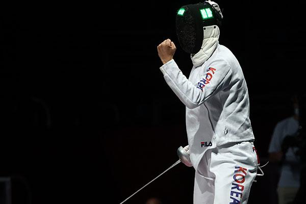 Escrime: l'équipe masculine sud-coréenne remporte le bronze à l'épée