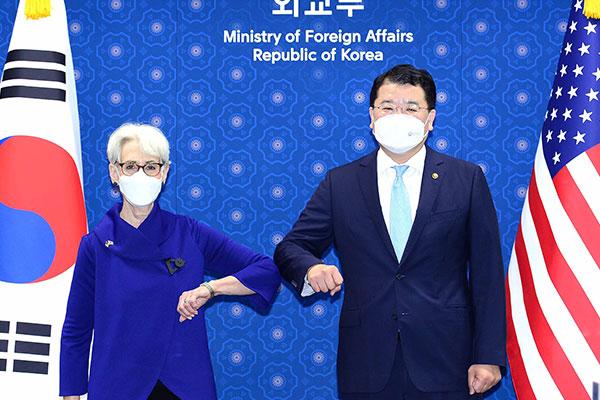 Vice Foreign Ministers, Nuke Envoys of S. Korea, US Hold Phone Talks