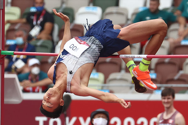 S. Korea Advances to Men's High Jump Finals in Olympics for 1st Time in 25 Yrs.
