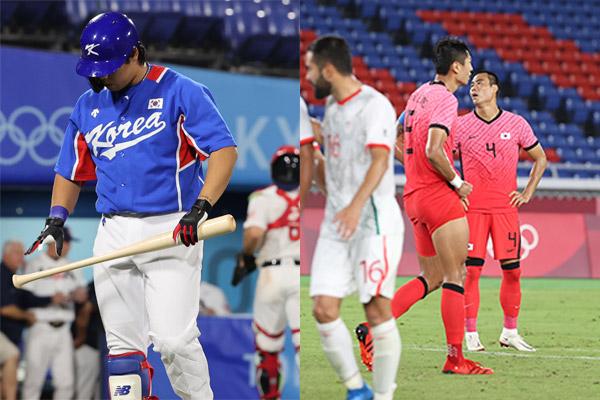 Representativos surcoreanos pierden en béisbol y fútbol en JJOO de Tokio