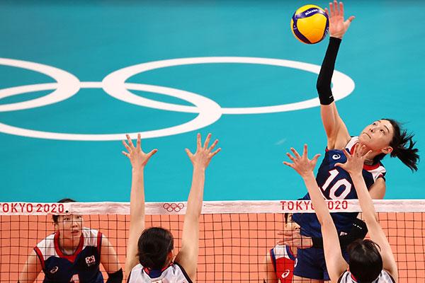 バレーボール女子 アジアでは韓国だけが決勝トーナメント進出