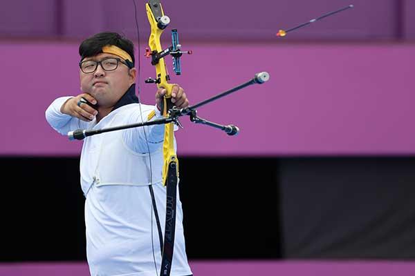 Olympia in Tokio: Bogenschütze Kim Woo-jin scheidet im Viertelfinale aus