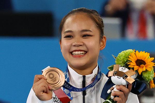 S. Korea's Yeo Seo-jeong Wins Bronze in Women's Vault