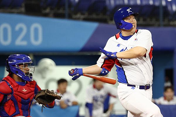 Baseball : la Corée du Sud s'impose face à la République dominicaine dans les toutes dernières minutes