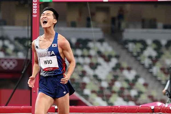 Atlet Lompat Tinggi Putra Korsel, Woo Sang-hyeok Catat Rekor Baru Bagi Korsel