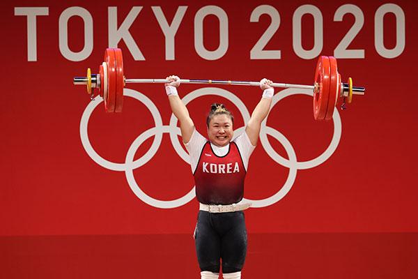 Haltérophilie : Kim Soo-hyeon échoue à remporter une médaille