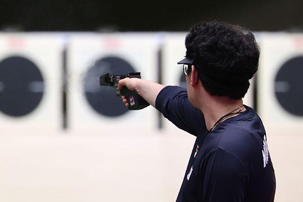 Xạ thủ Han Dae-yoon xếp thứ 4 Olympic Tokyo nội dung 25m súng ngắn bắn nhanh nam