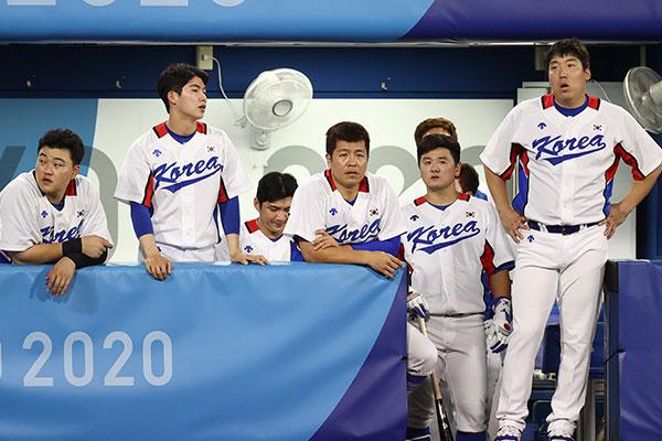 Южнокорейские бейсболисты сыграют в полуфинале Олимпиады  с командой Японии