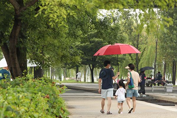 Météo pluvieuse en ce 2 août 2021