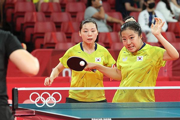 韓国卓球女子ダブルス アジア選手権で金メダル
