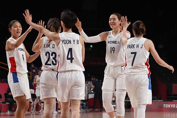 Đội tuyển nữ bóng chuyền Hàn Quốc giành vé vào vòng tứ kết Olympic Tokyo