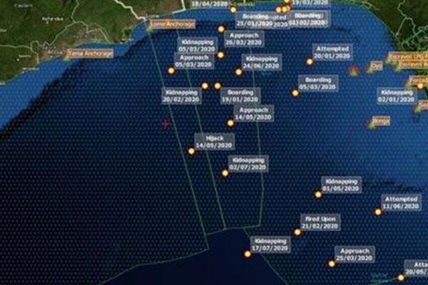 Libération de quatre marins sud-coréens kidnappé dans le golf de Guinée