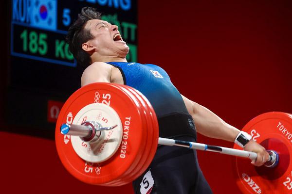 Atlet Angkat Besi Korsel Gagal Raih Medali di Kelas 109 kg Putra