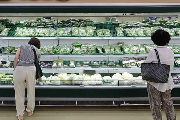 7月韩消费者物价上涨2.6% 时隔2个月再创新高