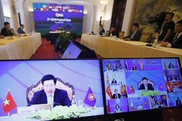 Foreign Minister to Attend Virtual ASEAN Ministerial Meetings