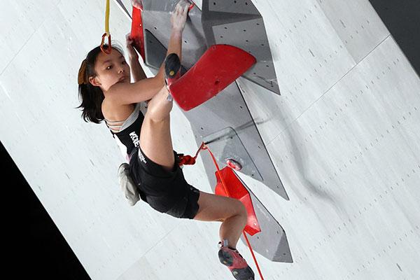 Vận động viên 10x Seo Chae-hyun vào chung kết môn leo núi thể thao tại Olympic