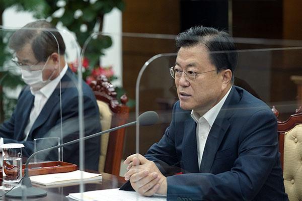 文在寅要求韩军出台对策修复信任
