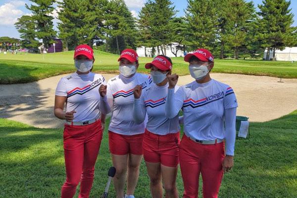 韓国ゴルフ女子 4人中3人が第1ラウンドトップ10