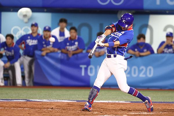 韩棒球队不敌美国 止步半决赛