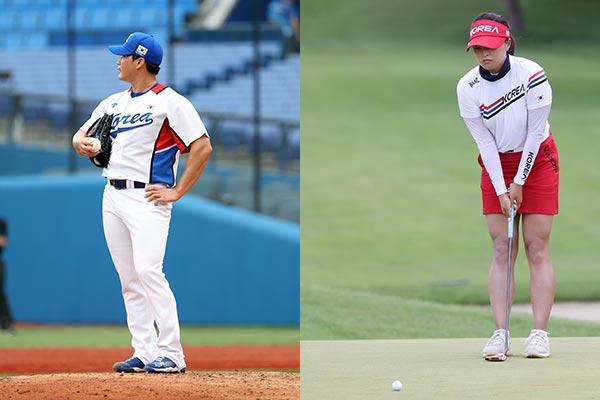 韩棒球不敌多米尼加共和国队 韩女子高尔夫球无缘奖牌