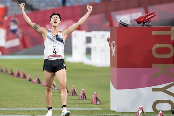 韩夺得奥运首枚现代五项男子个人赛铜牌