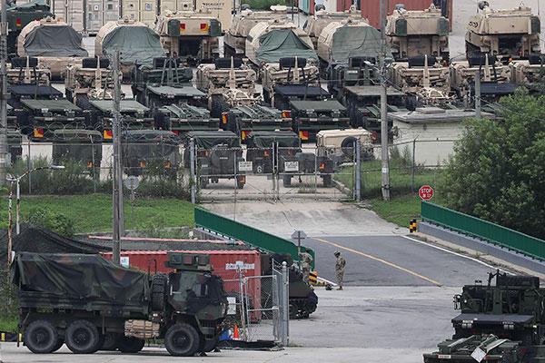 Pyongyang realiza ejercicio militar frente a maniobras conjuntas Corea del Sur-EEUU