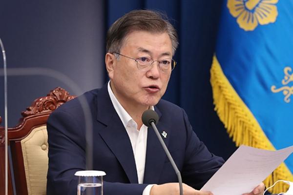 Presiden Moon : Keanggotaan PBB Adalah Langkah Pertama Korsel dan Korut ke Komunitas Internasional
