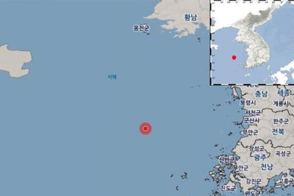 Gempa Bumi Berkekuatan 4,0 SR Terdeteksi di Laut Lepas Pulau Eocheong