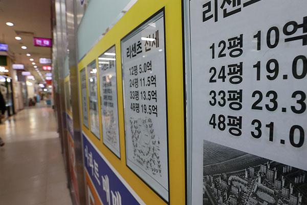 韩家庭负债突破1800万亿韩元