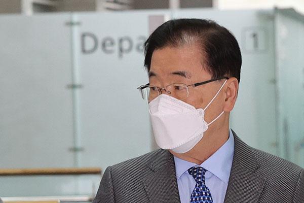 Ngoại trưởng Chung Eui-yong kêu gọi Ả-rập Xê-út và Ai Cập hỗ trợ doanh nghiệp Hàn Quốc