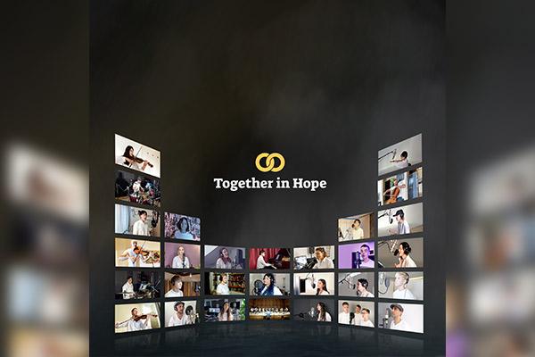 """70 artistas del mundo envían mensaje de esperanza con """"Against the Wind"""""""