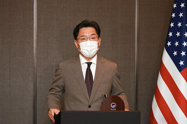 Enviado nuclear de Seúl conversa con EEUU sobre ayuda humanitaria a Corea del Note