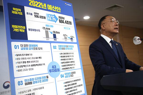 Anggaran Belanja Negara Korsel 2022 Mencapai 600 Triliun Won
