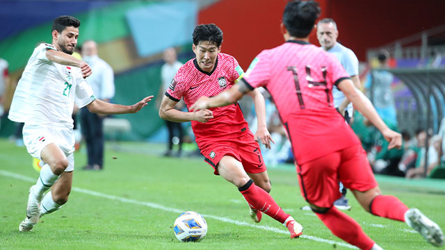 مباراة كوريا الجنوبية والعراق ضمن تصفيات مونديال 2022 تنتهي بالتعادل السلبي